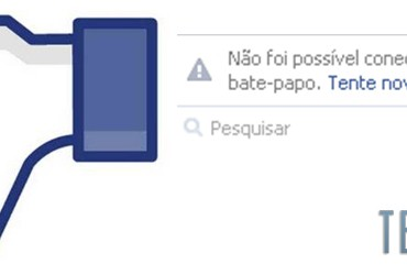Chat do Facebook fica fora do ar nesta noite de sexta-feira