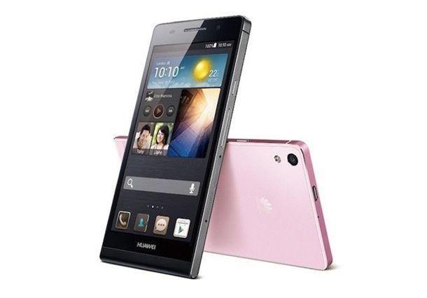 O Ascend P6 estará disponível nas cores preto, branco e rosa pelo preço de 449 euros, aproximadamente R$ 1300