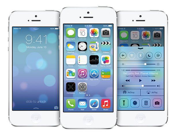 O iOS 7 apresenta uma nova interface propositadamente discreta e simplificada