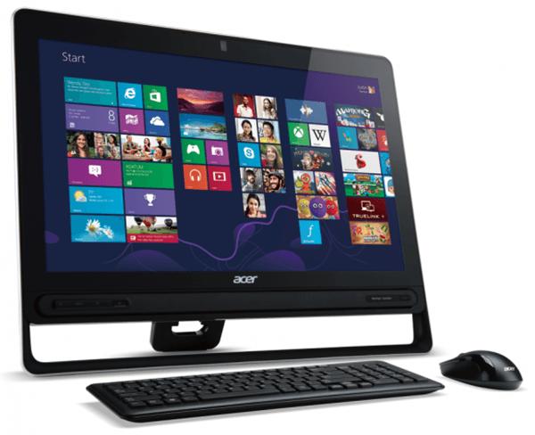 Aspire Z3 virá equipado com display de alta qualidade e Windows 8