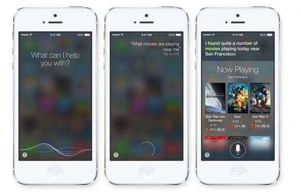 O Siri ganhou uma nova interface, além de uma nova voz com pronúncia muito mais natural