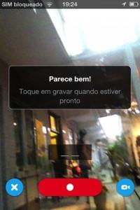 skype mensagem