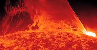 Sol explosão
