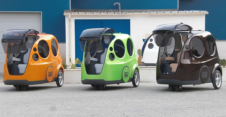 Compressed-Air-cars