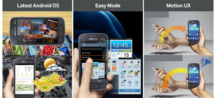 Galaxy S II TV: Android 4.2, Easy Mode e Motion UX