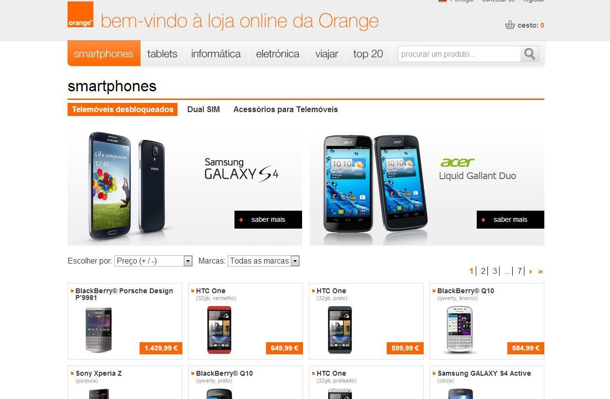 Orange-loja-online