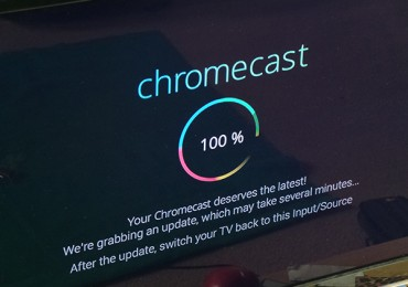 Instalação Google Chromecast