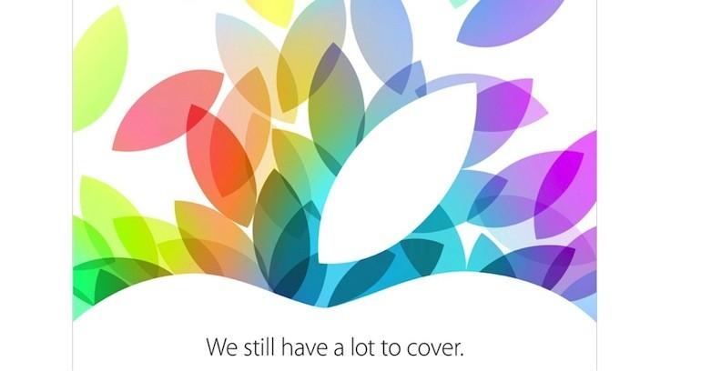 convite apple outubro 2013