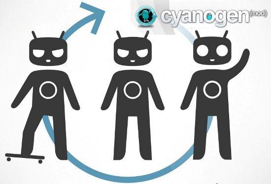 Smartphone CyanogenMod