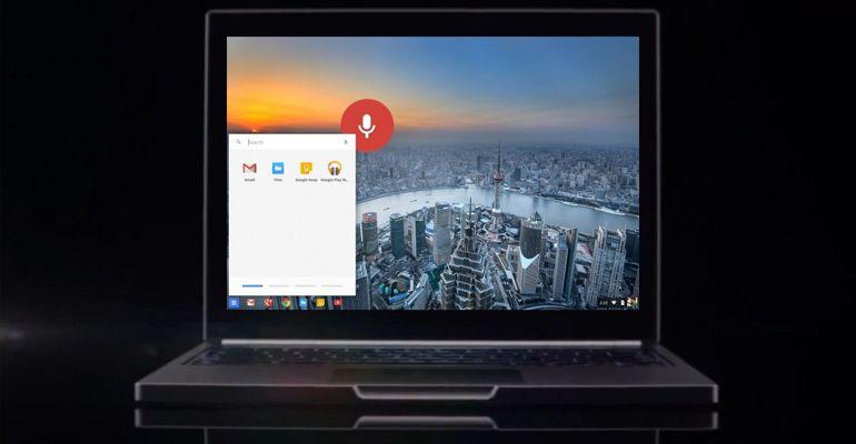 Google Chromebook OK Google