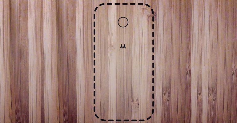 Motorola Moto X madeira