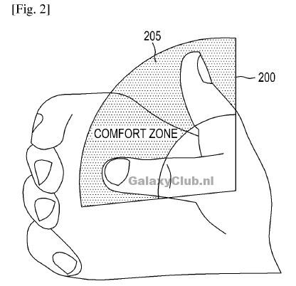 patente zona de conforto samsung