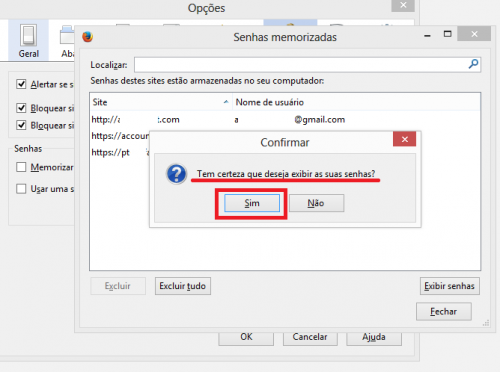 Como visualizar senhas gravadas no Mozilla Firefox 4