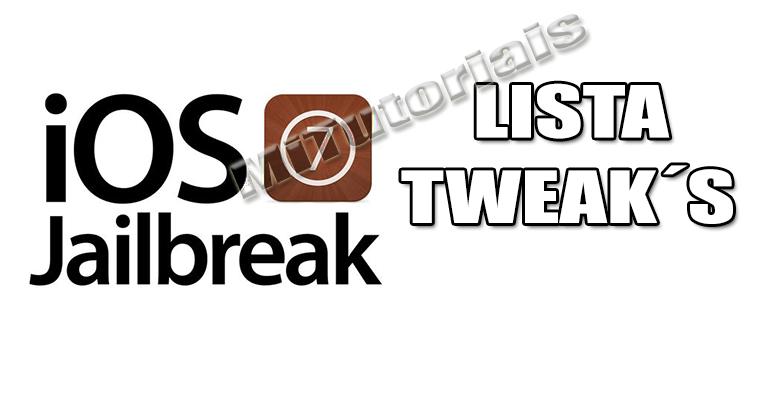 Lista de Tweak´s para iOS 7