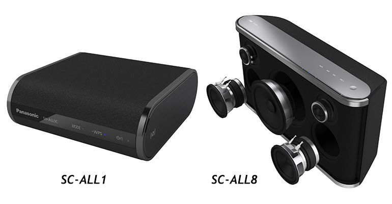 Panasonic SC-ALL1 e SC-ALL8