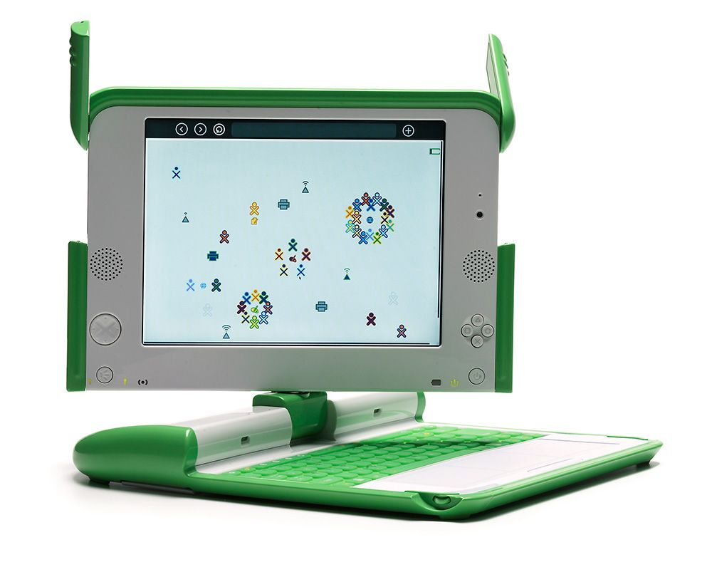 What-is-Modern-exhibition-One-Laptop-Per-Child-XO-laptop-by-Yves-Behar