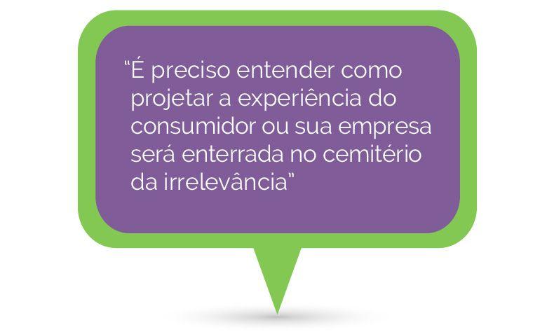 como projetar a experiência do consumidor