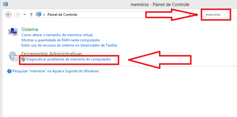 Como Testar a Memoria do seu Computador no Windows 8 passo 1