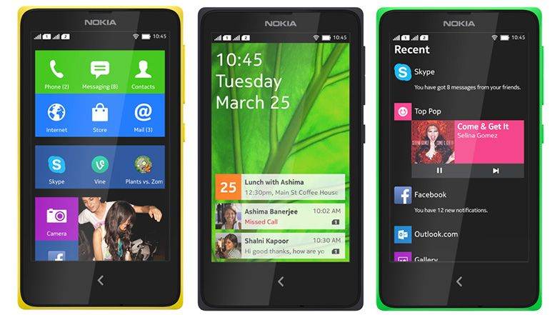 Nokia X série