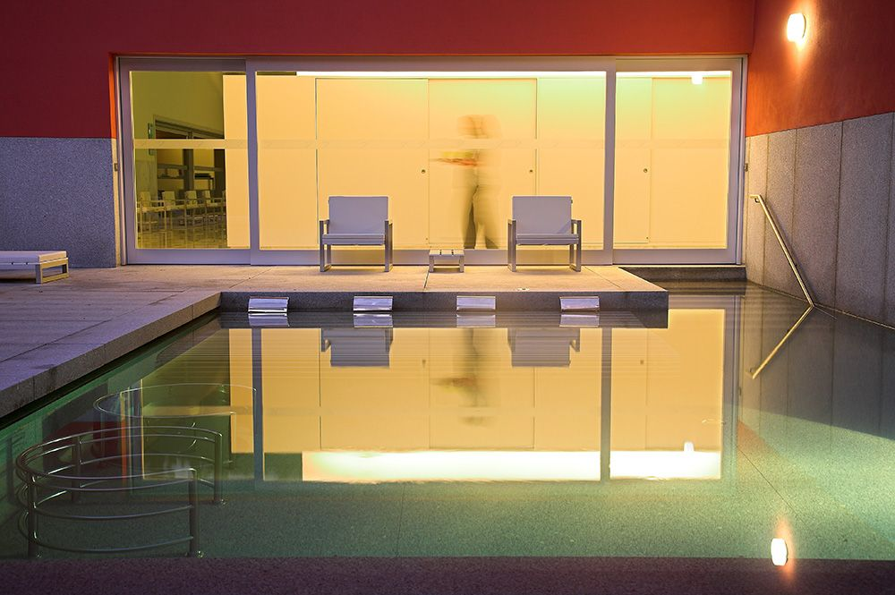 Piscina de Vitalidade-noite VPH - ©Vidago Palace Hotel