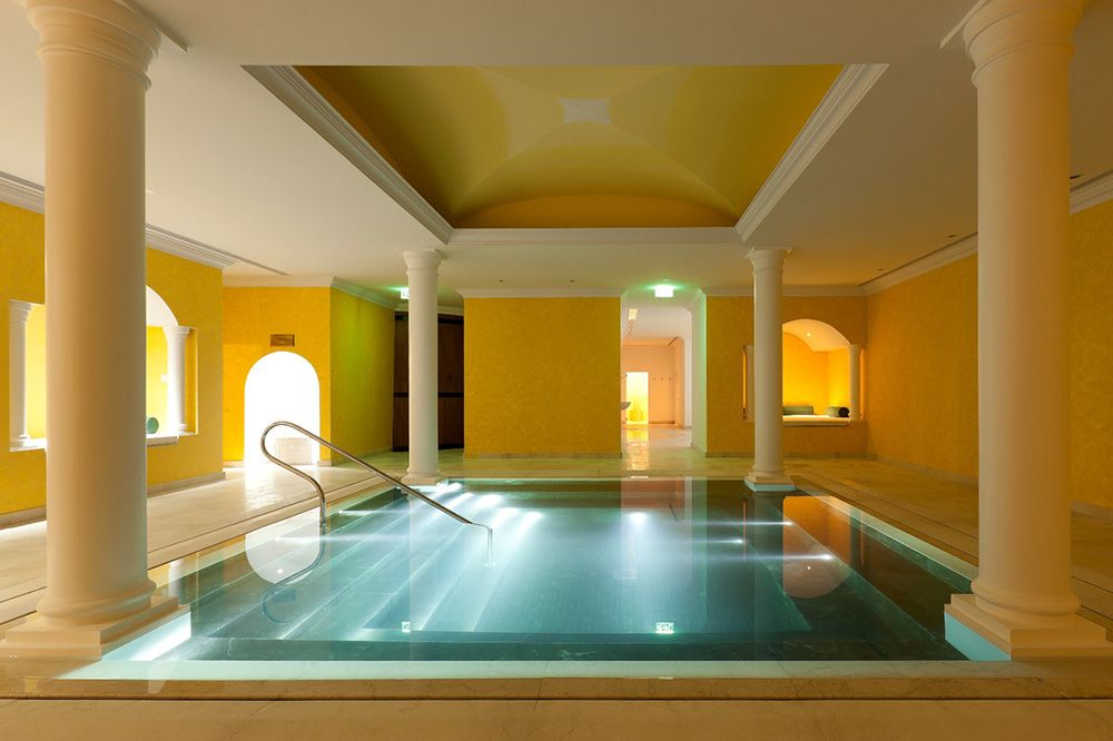 Yeatman Spa Roman Bath - ©The Yeatman