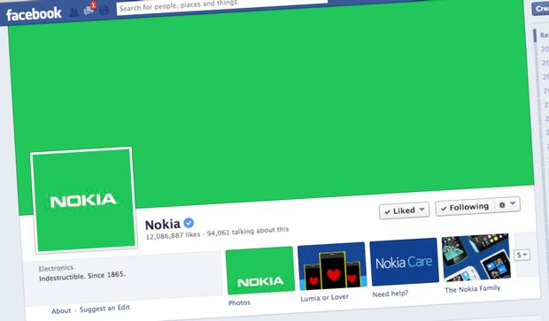 Nokia Android Facebook