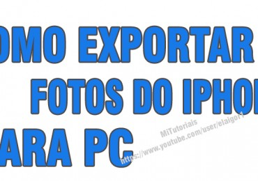 Como exportar fotos do iphone com ifunbox
