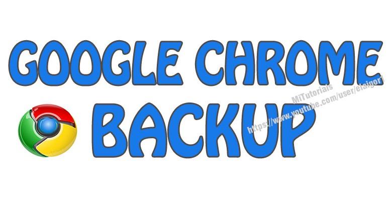 Como fazer backup de seu perfil do Google Chrome