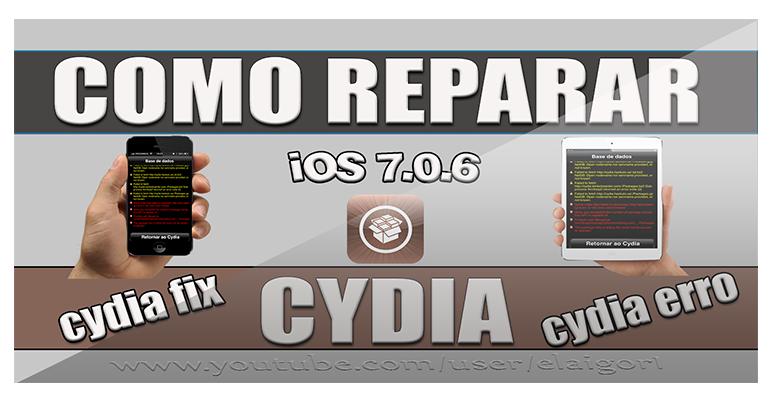 Como reparar erros do Cydia no iOS 7.0.6 blog