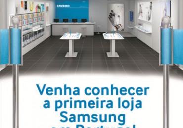 Primeira loja da samsung em Portugal abre no Centro Comercial Colombo