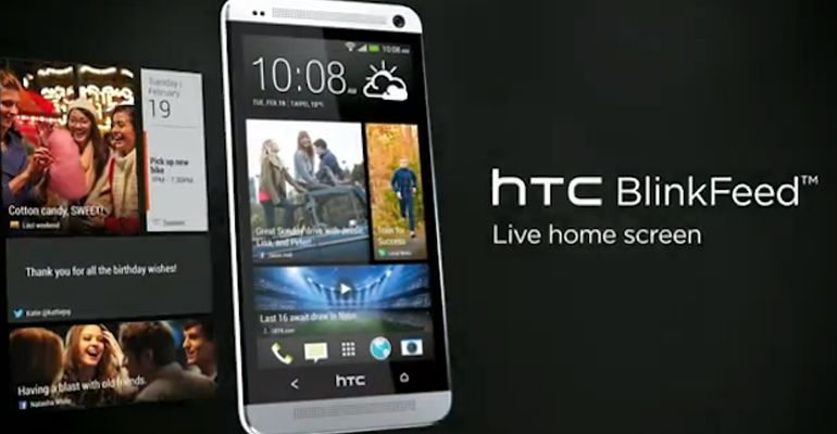 HTC BlinkFeed Android