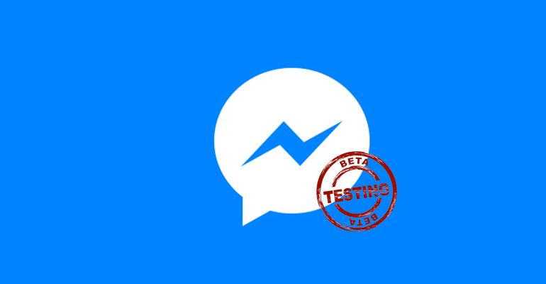 Facebook Messenger Beta