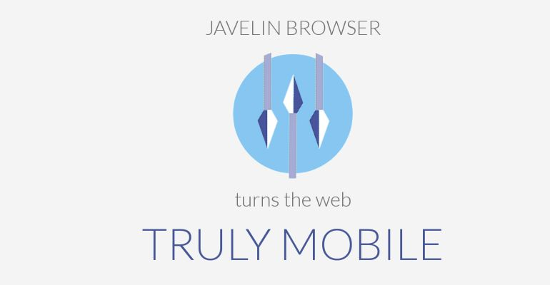 Javelin Browser Android gestos