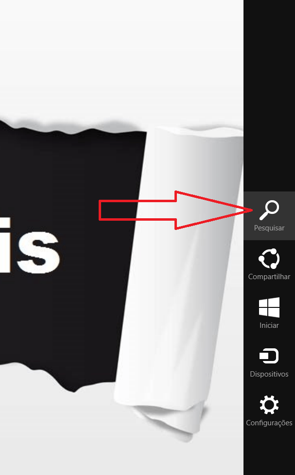 Como iniciar Windows 8.1 sem digitar senha passo 1