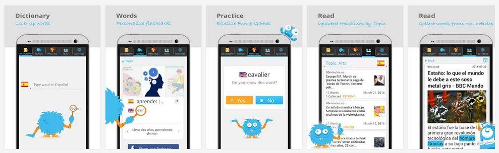 Lingua.ly transforma qualquer dispositivo móvel em uma experiência de aprendizagem de línguas