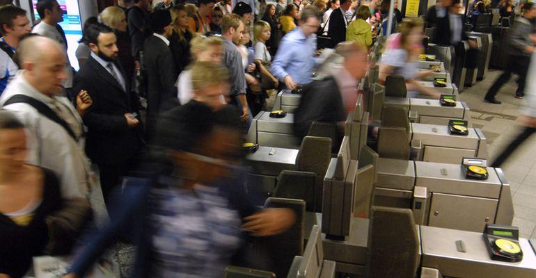 Metro de Londres pagamento smartphone
