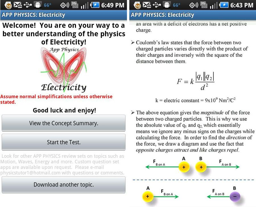 App Physics: Electricity