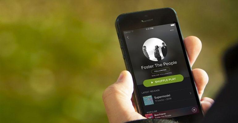 spotify  recebe novo interface