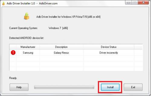 Como instalar um driver para Android 1