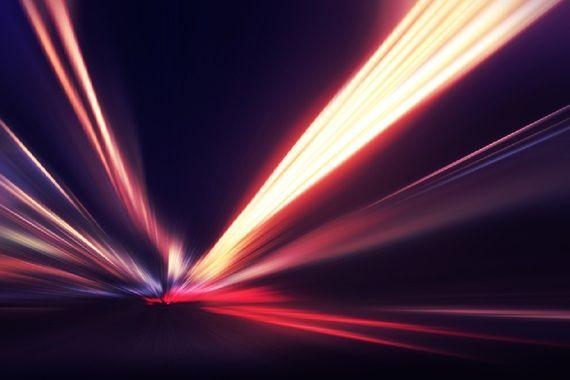 Pesquisadores propõem a construção de um experimento capaz de transformar fótons em matéria, o que demonstraria um dos aspectos da teoria da relatividade de Einstein. Imagem: Shutterstock/Elenamiv