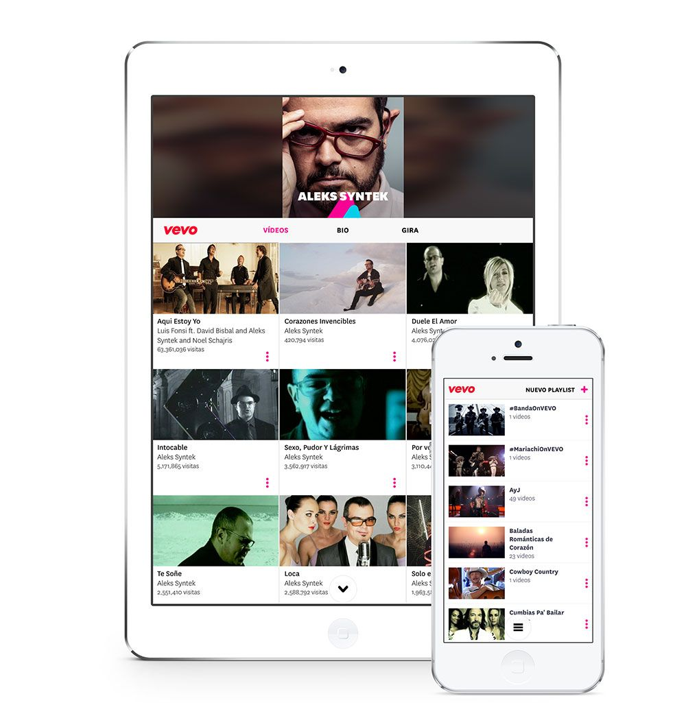 Vevo_MX_Ipad_Iphone