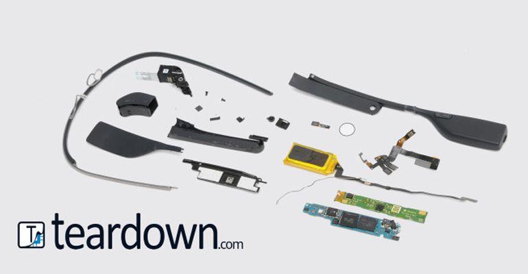 Google Glass teardown 80 dólares