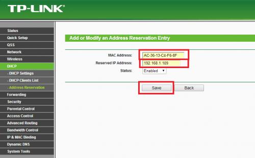 Como fixar endereço IP através da reserva no DHCP (6)