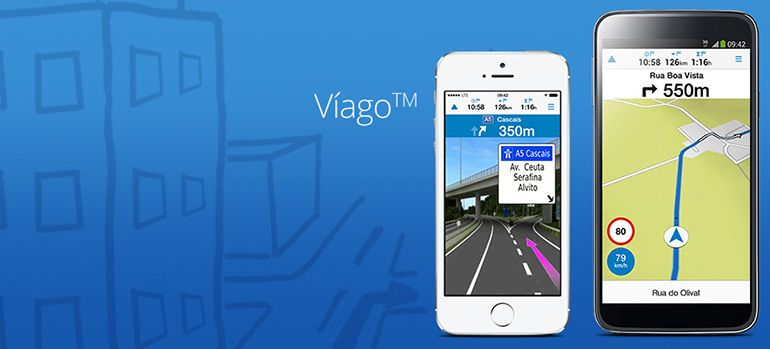App Víago da Garmin