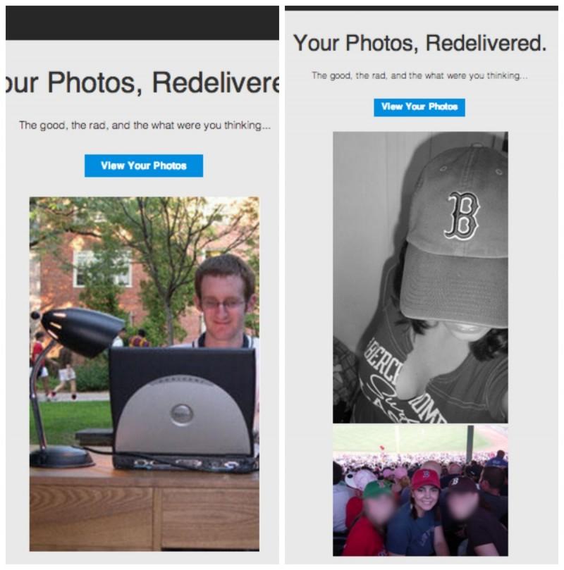 MySpace tenta reconquistar velhos usuários com fotos antigas de perfis pessoais (Foto: Reprodução/Mashable)