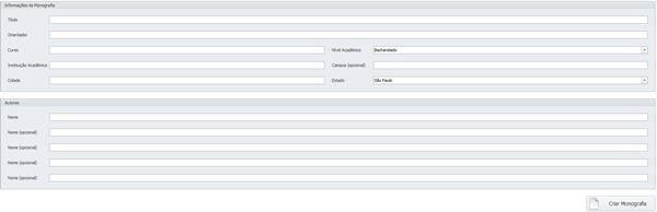 O software oferece ao utilizador recursos como deixar o texto em negrito e itálico.