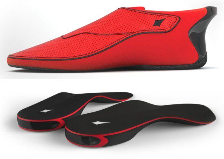 Os sapatos e as palmilhas vão ter um preço entre os 100 e os 150 dólares DUCERE