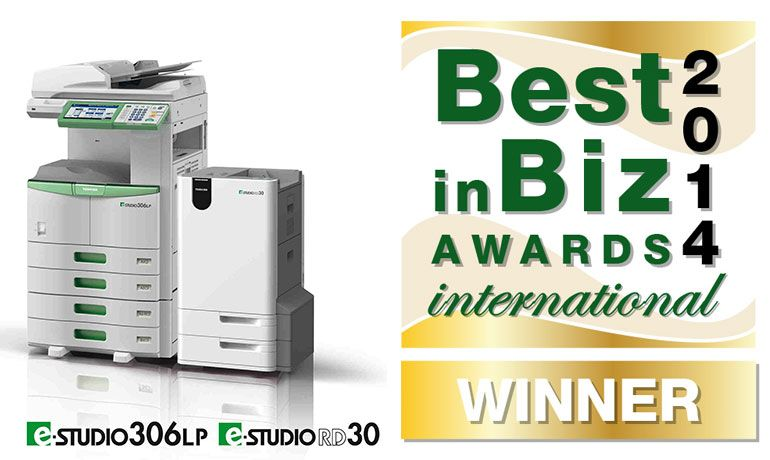 "Toshiba distinguida com Ouro nos ""Best in Biz Awards 2014 International"""