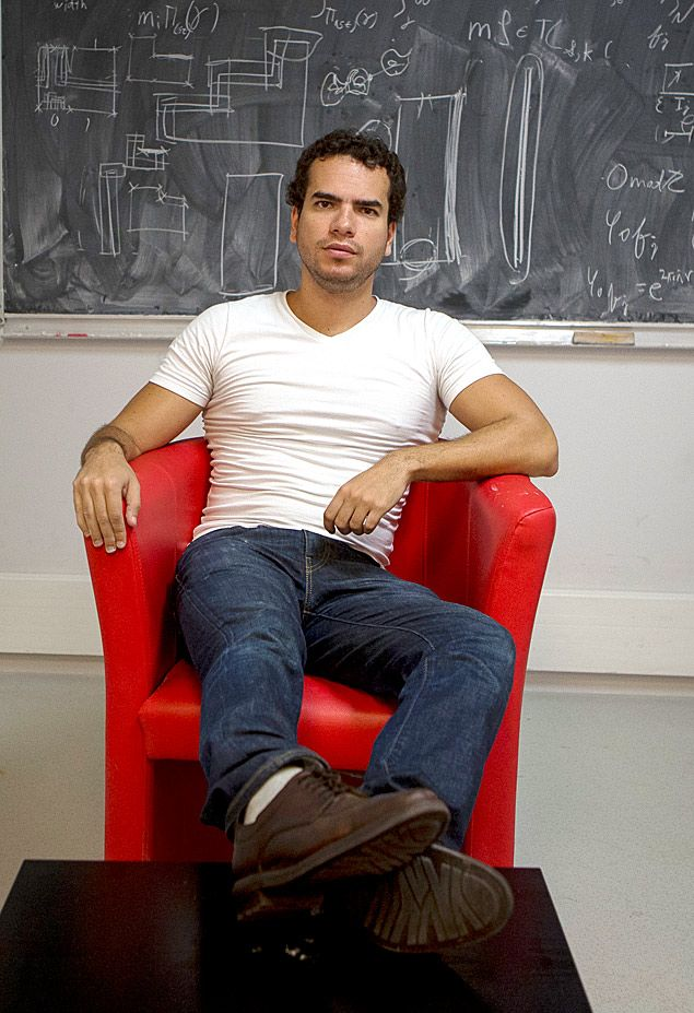 O matemático Artur Avila, 35. Crédito: Mastrangelo Reino; Caixapreta; Folhapress