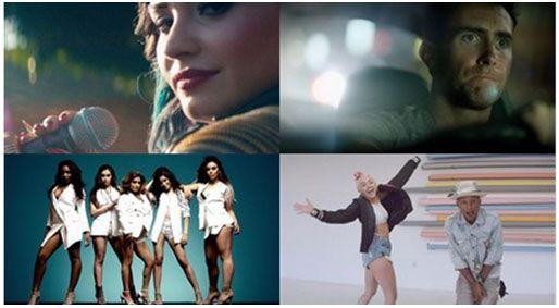 TOP 10 Vevo Brasil- JULHO/2014